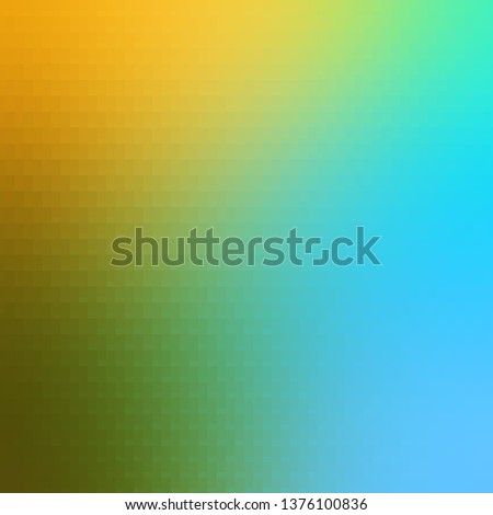Light Blue, Yellow vector template with rectangles. Rectangles with colorful gradient on abstract background. Best design for your ad, poster, banner.