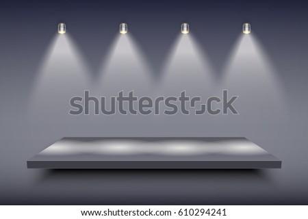 light box with black