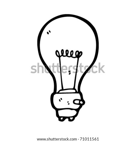 Cartoon Light Bulb http://www.shutterstock.com/pic-71011561/stock-vector-light-bulb-cartoon.html