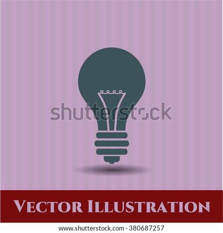 Light bulb high quality icon