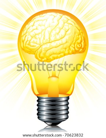 light bulb of inspiration