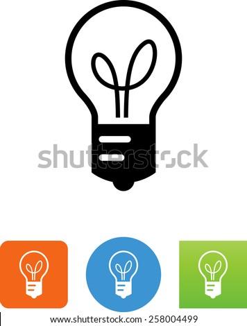 light bulb symbol for download