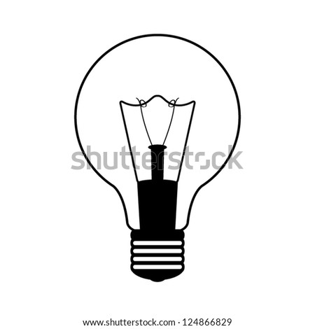 Light bulb .vector