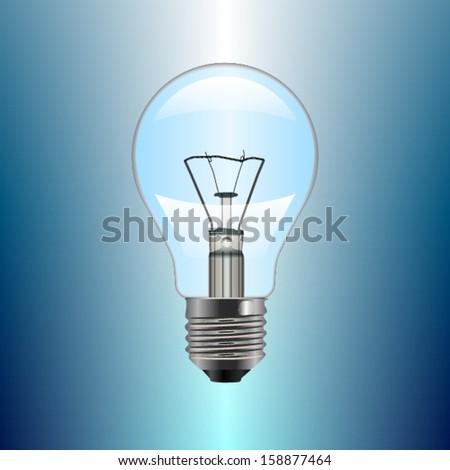 Light Bulb. Vector #158877464