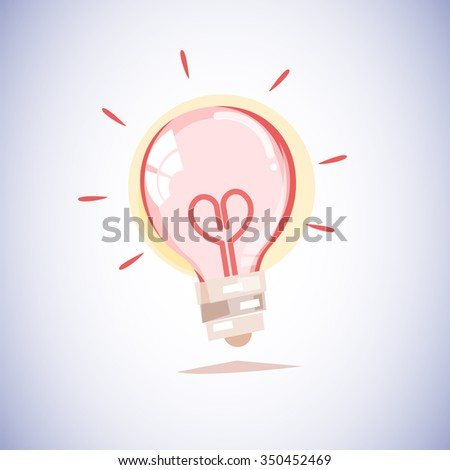 light bulb with a filament in