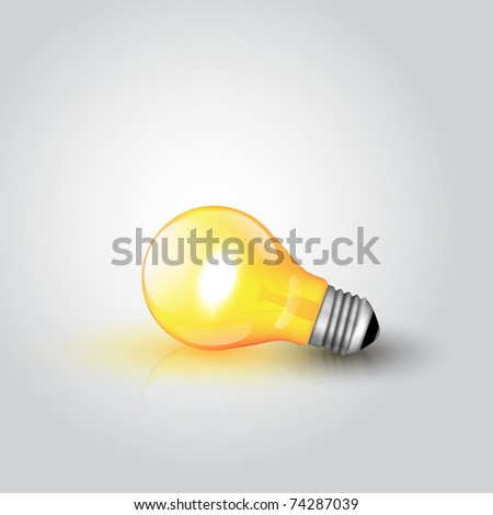 Light Bulb with high detail and reflection