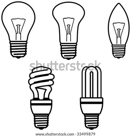 Light Bulbs â?? Vector illustration