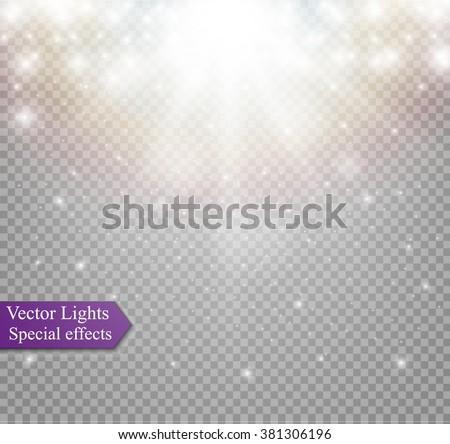 light effect in sky  explosion