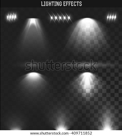 light effect set ies lights