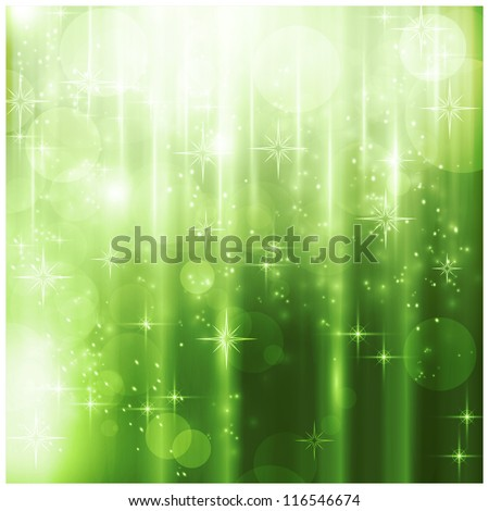 stock-vector-light-effects-blurry-light-dots-and-stars-on-a-sparkling-green-background-for-your-christmas