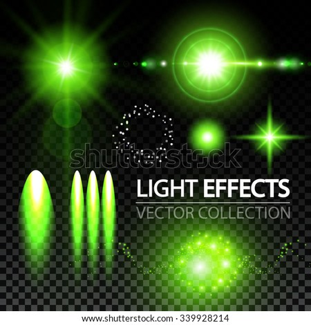 light effects collection stars