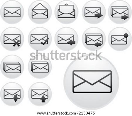 light envelope icons (3 of 5)