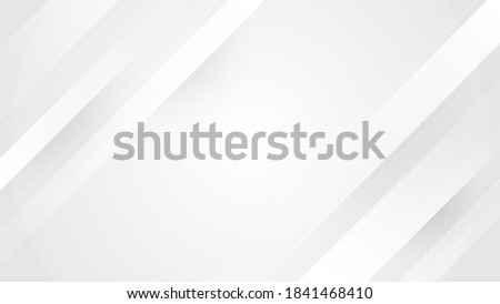 Light gray and white oblique overlay lines geometry tech abstract subtle background vector illustration Foto stock ©
