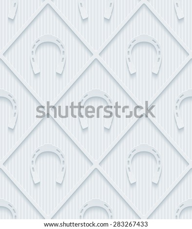 light gray horseshoes wallpaper