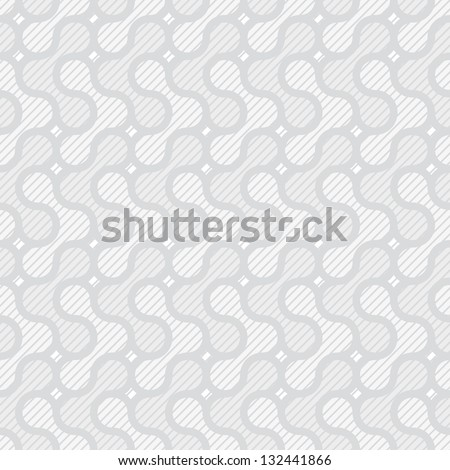light gray simple seamless pattern - stock vector
