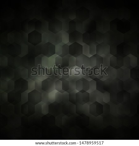 Light Gray vector texture with colorful hexagons. Colorful hexagons on blur backdrop. Pattern for your ad, booklets.