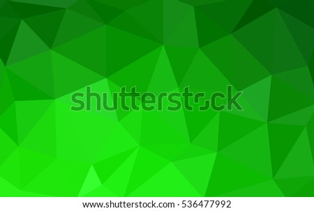 light green polygonal