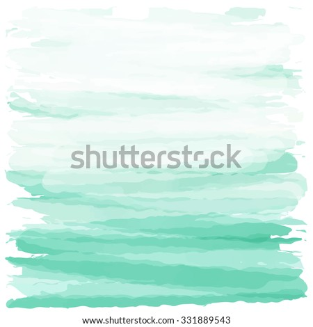 light green sea love pastel