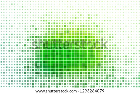 Light Green vector backdrop with rectangles, squares. Rectangles on abstract background with colorful gradient. Smart design for your business advert.