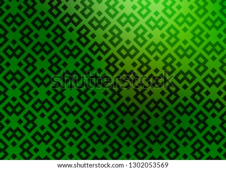 Light Green vector backdrop with rectangles, squares. Rectangles on abstract background with colorful gradient. Pattern for busines ad, booklets, leaflets