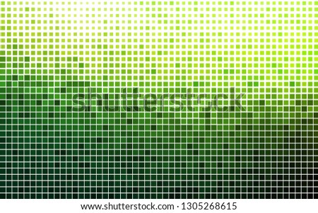 Light Green vector backdrop with rectangles, squares. Rectangles on abstract background with colorful gradient. Pattern can be used for websites.