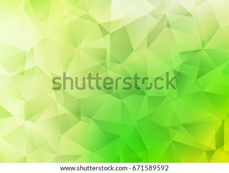 light green vector blurry