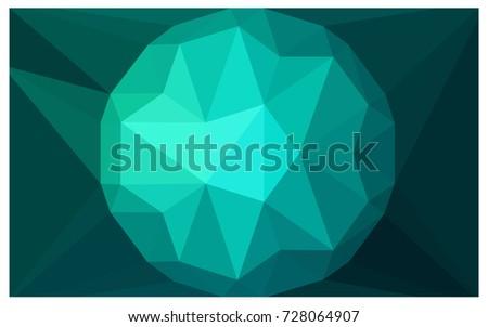 light green vector diamond