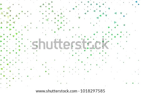 Light Green Vector Geometric Simple Minimalistic Background Which