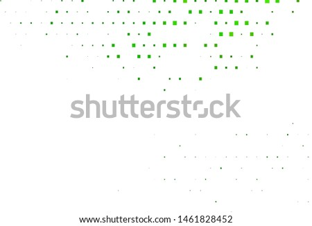 Light Green vector layout with lines, rectangles. Rectangles on abstract background with colorful gradient. Pattern for busines ad, booklets, leaflets