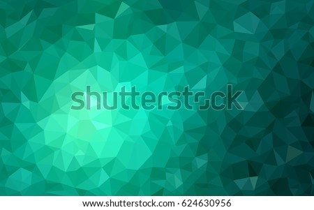 light green vector low poly