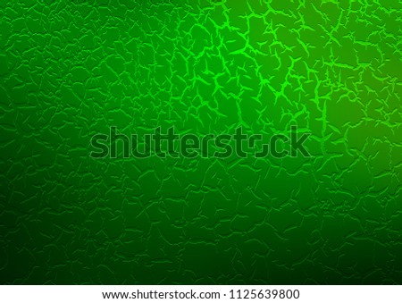 Light Green vector template with bubble shapes. A completely new color illustration in marble style. A completely new marble design for your business.