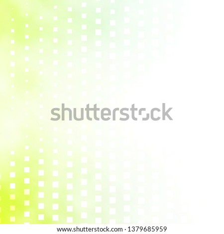 Light Green vector template with rectangles. Rectangles with colorful gradient on abstract background. Design for your business promotion.