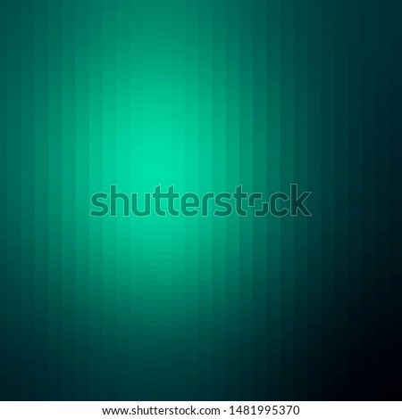 Light Green vector texture in rectangular style. Abstract gradient illustration with rectangles. Pattern for commercials, ads.