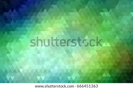 light green vector triangle