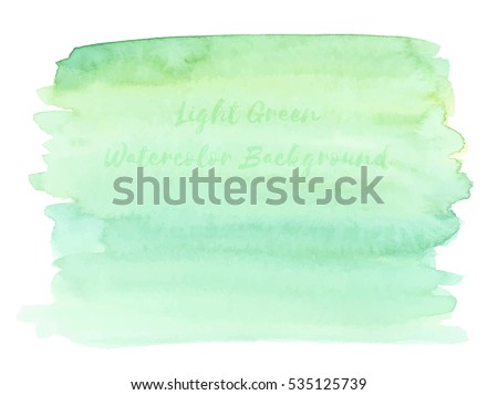 light green watercolor