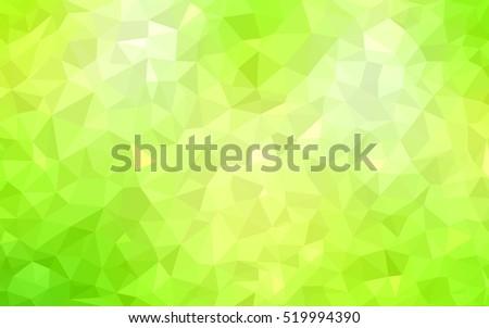 light green yellow shining