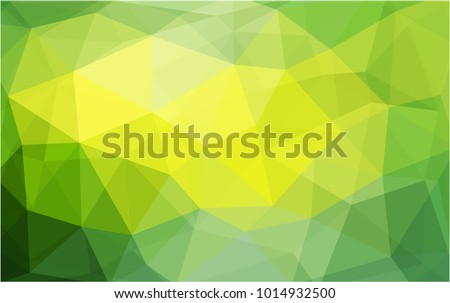 stock-vector-light-green-yellow-vector-abstract-textured-polygonal-background-blurry-triangle-design-pattern
