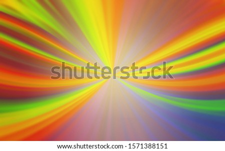 Light Green, Yellow vector blurred shine abstract texture. Shining colored illustration in smart style. New style design for your brand book.