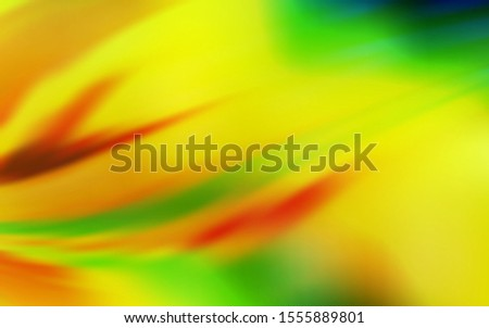 Light Green, Yellow vector modern elegant backdrop. An elegant bright illustration with gradient. Smart design for your work.