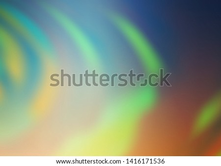 Light Green, Yellow vector modern elegant background. An elegant bright illustration with gradient. A completely new design for your business.