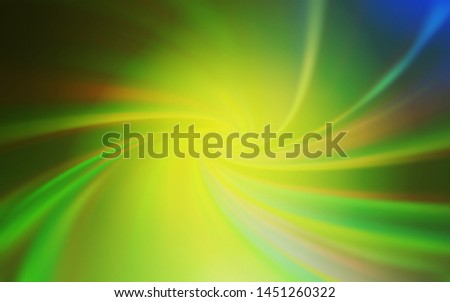 Light Green, Yellow vector modern elegant layout. An elegant bright illustration with gradient. The best blurred design for your business.