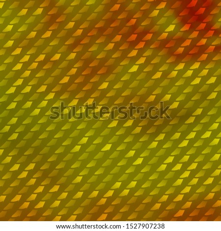 Light Green, Yellow vector texture in rectangular style. Illustration with a set of gradient rectangles. Pattern for commercials, ads.