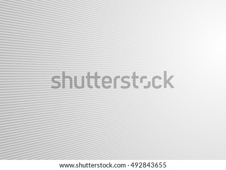 Light grey abstract lines tech background. Vector design #492843655