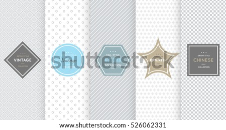 light grey seamless pattern