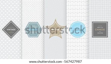 light grey seamless pattern