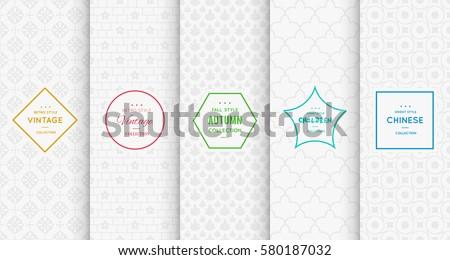 light grey white pattern