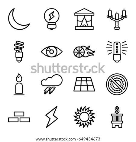 Electrical Circuit Symbol Bulb