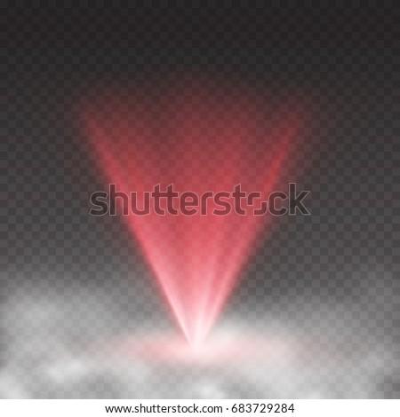 light laser effect in fog