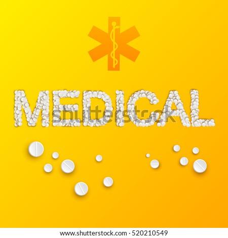 light medicine template with