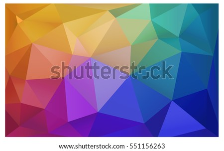light multicolor abstract